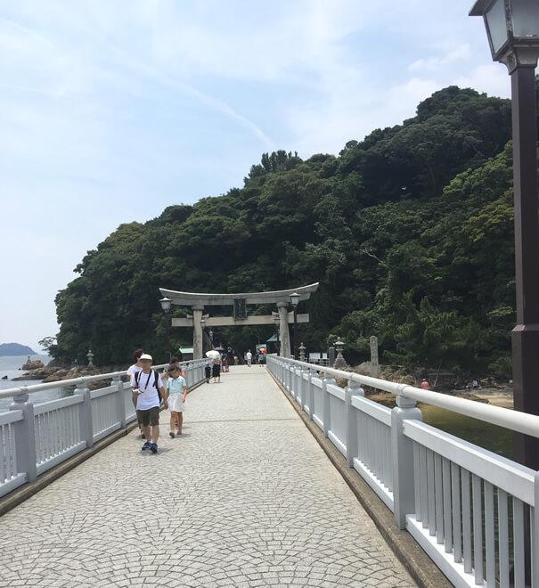 蒲郡 竹島(八百富神社)