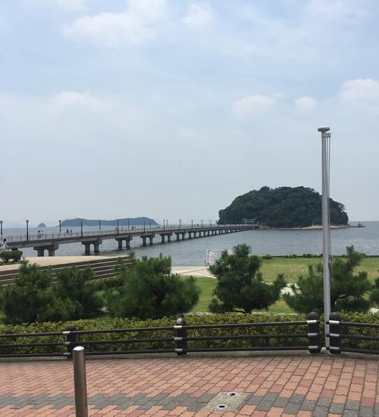 竹島(八百富神社)