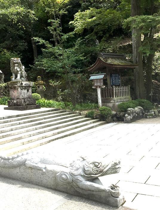 伊奈波神社 龍