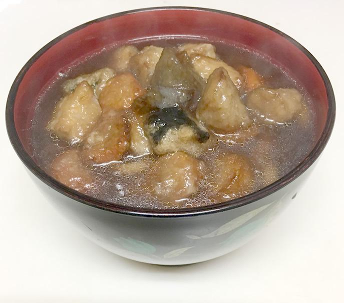 丸亀製麺風『ごろごろ野菜の揚げだしうどん』