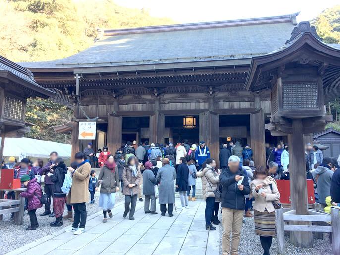 伊奈波神社 拝殿 初詣