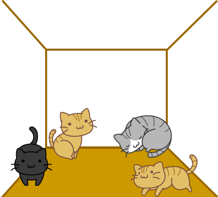 ネコの部屋