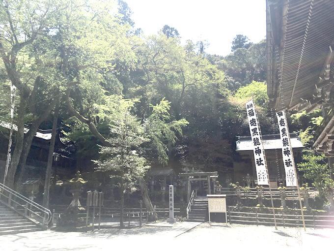 夏の黒龍神社