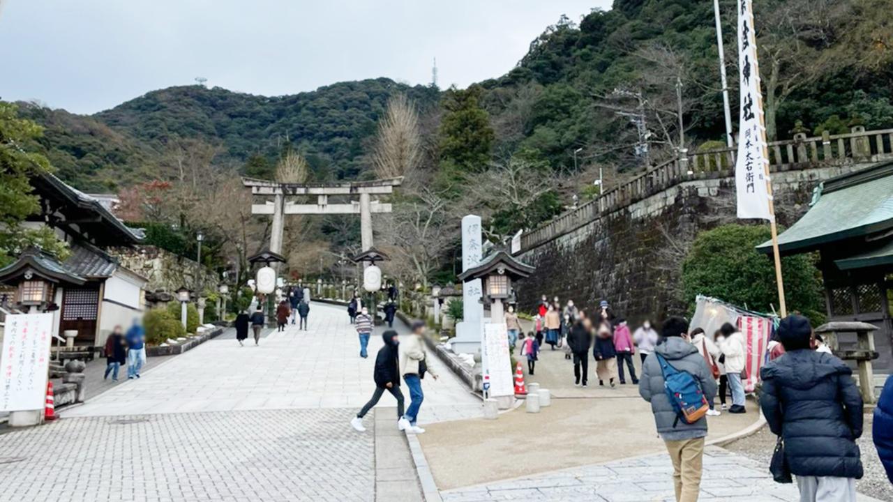 伊奈波神社 2021年 初詣