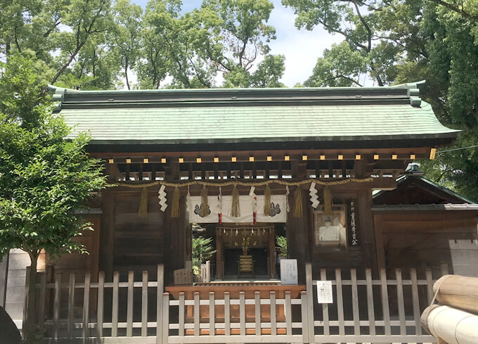 豊國神社 拝殿